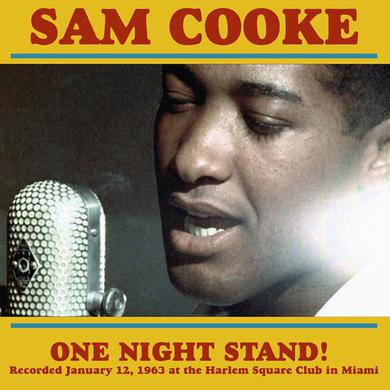Sam Cooke ONE NIGHT STAND Vinyl Record