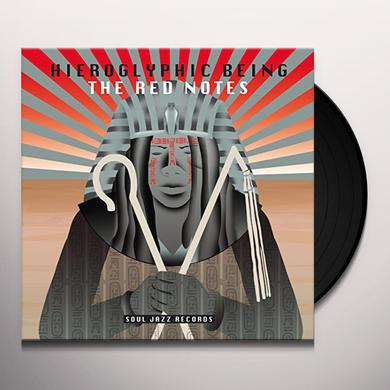 Hieroglyphic Being RED NOTES Vinyl Record
