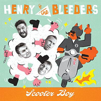 HENRY & THE BLEEDERS SCOOTER BOY Vinyl Record
