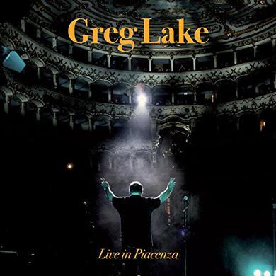 Greg Lake LIVE IN PIACENZA Vinyl Record