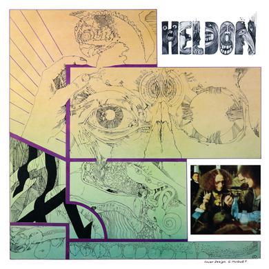 Heldon ELECTRONIQUE GUERILLA Vinyl Record