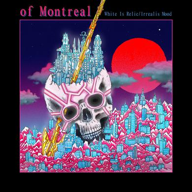 Of Montreal WHITE IS RELIC / IRREALIS MOOD Vinyl Record