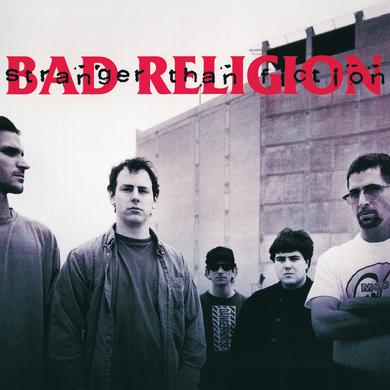 Bad Religion STRANGER THAN FICTION Vinyl Record