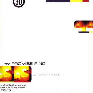 Promise Ring 30 DEGREES EVERYWHERE Vinyl Record