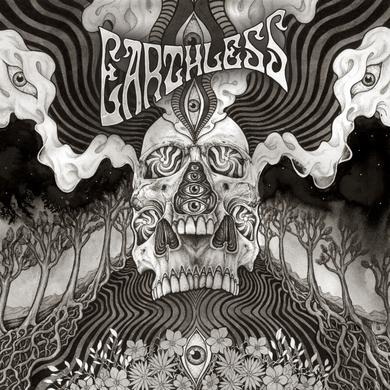 Earthless BLACK HEAVEN (CLEAR & BLACK VINYL) Vinyl Record