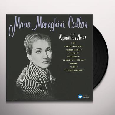 Maria Callas OPERATIC ARIAS (LYRIC & COLORATURA) Vinyl Record