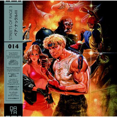 Yuzo Koshiro STREETS OF RAGE 3 / O.S.T. Vinyl Record