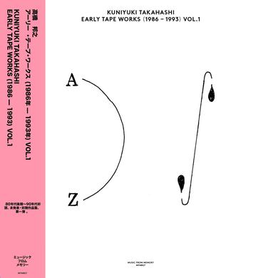 Kuniyuki Takahashi EARLY TAPE WORKS (1986-1993) VOL. 1 Vinyl Record