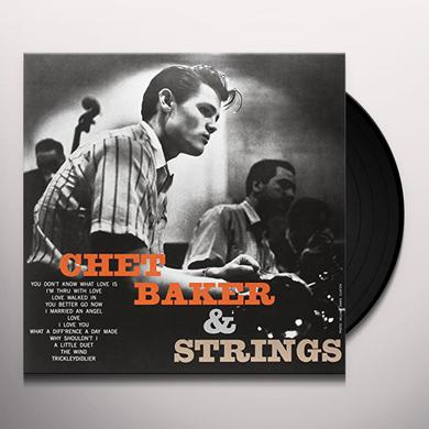 Chet Baker WITH STRINGS Vinyl Record