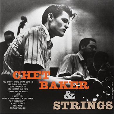 Chet Baker WITH STRINGS Vinyl Record