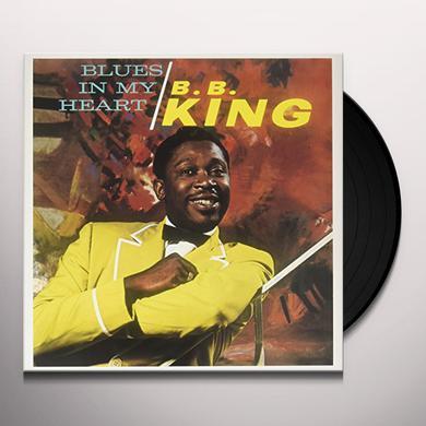 B.B. King BLUES IN MY HEART Vinyl Record