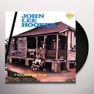 John Lee Hooker HOUSE OF THE BLUES Vinyl Record