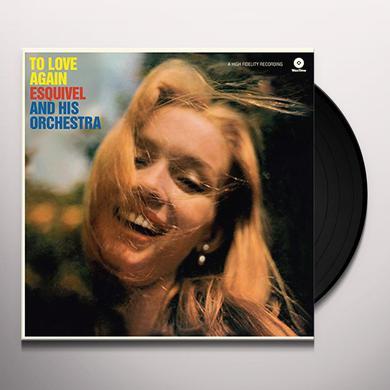 Esquivel & His Orchestra TO LOVE AGAIN (BONUS TRACK) Vinyl Record - 180 Gram Pressing, Remastered, Virgin Vinyl