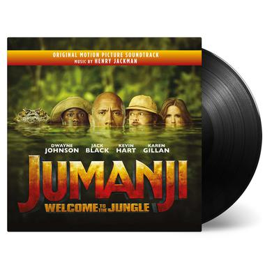 Henry Jackman JUMANJI: WELCOME TO THE JUNGLE Vinyl Record