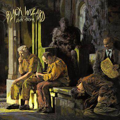 Black Wizard LIVIN' OBLIVION Vinyl Record