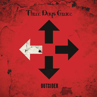 Three Days Grace OUTSIDER Vinyl Record