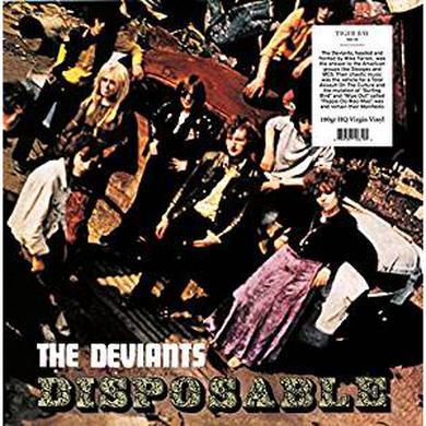 Deviants DISPOSABLE Vinyl Record