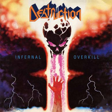 Destruction INFERNAL OVERKILL (YELLOW VINYL) Vinyl Record