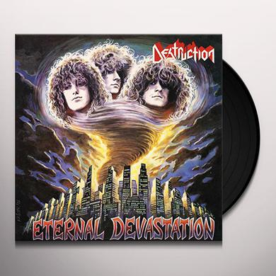 Destruction ETERNAL DEVASTATION (BLOOD RED VINYL) Vinyl Record