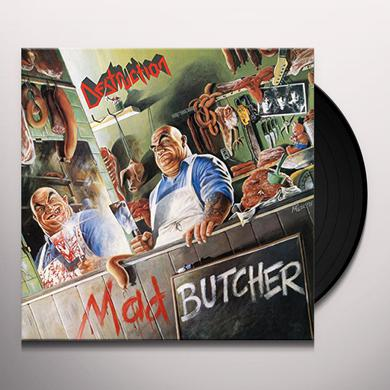 Destruction MAD BUTCHER (KELLY GREEN VINYL) Vinyl Record