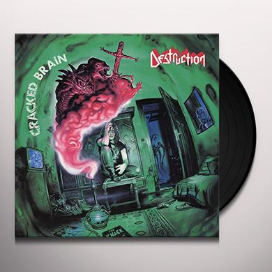 Destruction CRACKED BRAIN (ELECTRIC BLUE VINYL) Vinyl Record