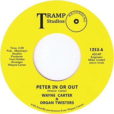 Wayne Carter PETER IN OR OUT Vinyl Record