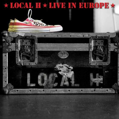 Local H LIVE IN EUROPE Vinyl Record
