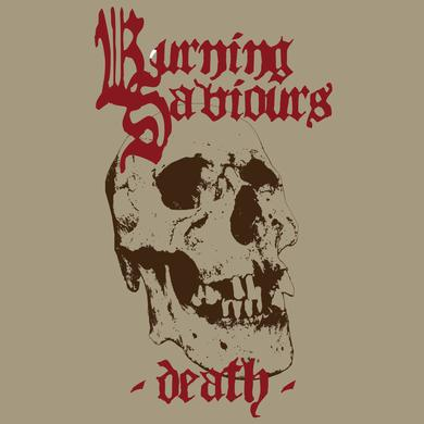 Burning Saviours DEATH (RED VINYL) Vinyl Record