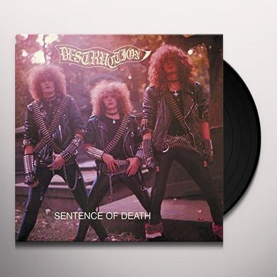Destruction SENTENCE OF DEATH Vinyl Record