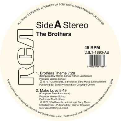 BROTHERS THEME Vinyl Record