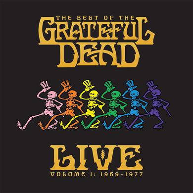 BEST OF THE GRATEFUL DEAD LIVE: 1969-1977 - VOL 1 Vinyl Record