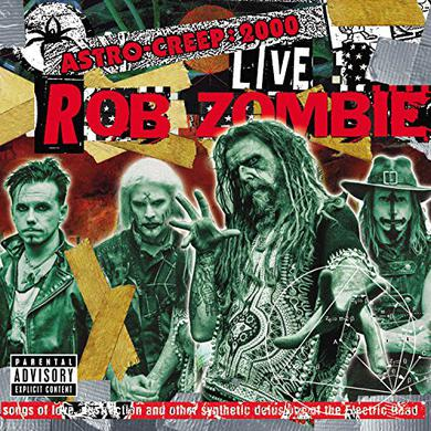 Rob Zombie ASTRO-CREEP: 2000 LIVE SONGS OF LOVE DESTRUCTION Vinyl Record