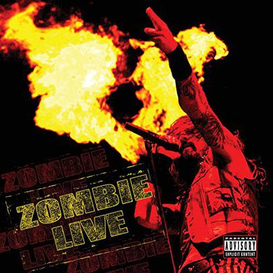Rob Zombie ZOMBIE LIVE Vinyl Record