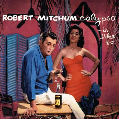 Robert Mitchum CALYPSO / IS LIKE SO Vinyl Record