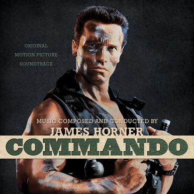 James Horner COMMANDO: ORIGINAL MOTION PICTURE SOUNDTRACK Vinyl Record