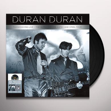 Duran Duran THANKSGIVING LIVE Vinyl Record