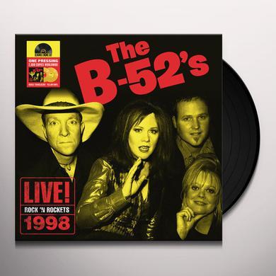 B-52's ROCK N' ROCKETS LIVE Vinyl Record