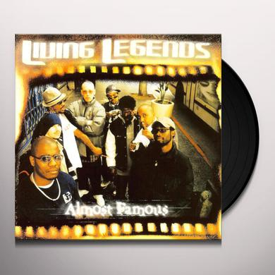 Living Legends ALMOST FAMOUS Vinyl Record