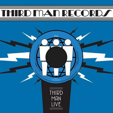 Pill AFRAID OF THE MIRROR / T.V. WEDDING THIRD MAN LIVE Vinyl Record