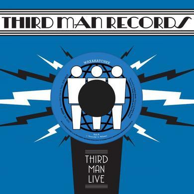 Waxahatchee GREENVILLE / LA LOOSE (THIRD MAN LIVE) Vinyl Record