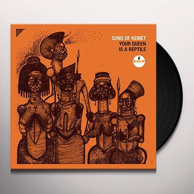 Sons Of Kemet YOUR QUEEN IS A REPTILE Vinyl Record