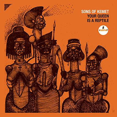 Sons Of Kemet YOUR QUEEN IS A REPTILE Vinyl Record