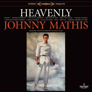 Johnny Mathis HEAVENLY Vinyl Record