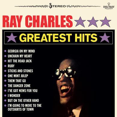 Ray Charles GREATEST HITS Vinyl Record