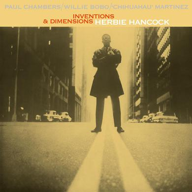 Herbie Hancock INVENTIONS & DIMENSIONS Vinyl Record