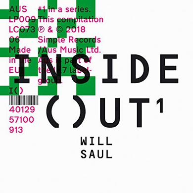 Will Saul INSIDE OUT Vinyl Record