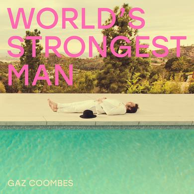 Gaz Coombes WORLD'S STRONGEST MAN Vinyl Record