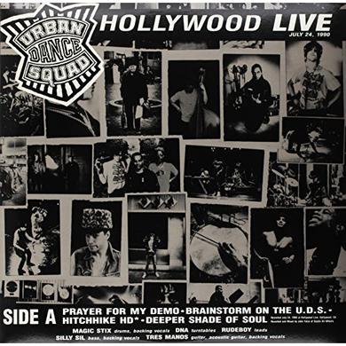 Urban Dance Squad HOLLYWOOD LIVE / PINK POP LIVE Vinyl Record