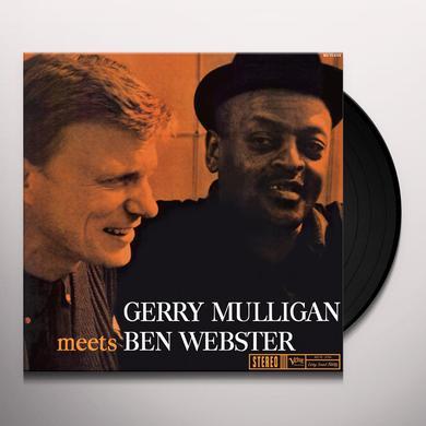Gerry Mulligan / Ben Webster GERRY MULLIGAN MEETS BEN WEBSTER Vinyl Record
