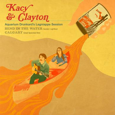 Kacy & Clayton AQUARIUM DRUNKARD'S LAGNIAPPE SESSION Vinyl Record